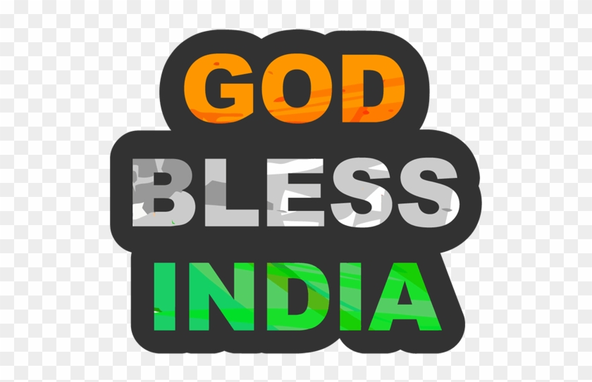God Bless India Sticker - Think Success: How To Take Your Life, Success, And #1327164