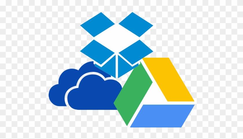 Google Drive Dropbox Onedrive - Free Transparent PNG Clipart