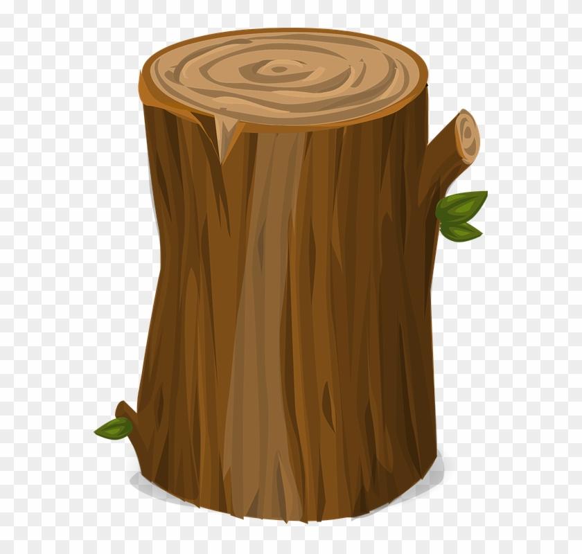 Stump Clipart Tree Cut - Tree Stump Transparent Background - Free
