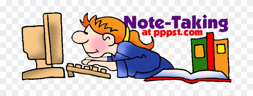 Taking Notes Clipart Free Powerpoint Presentations Taking Notes