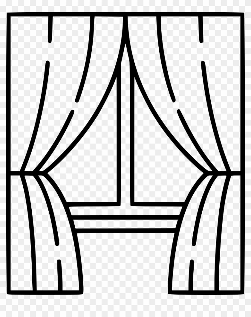 drawn window outline line drawing of window free transparent png
