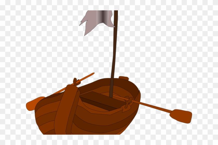 Viking Ship Clipart Pirate - Boat Clip Art #1329733