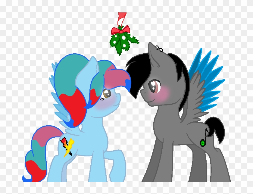 Under The Mistletoe By Jeanettemiller547 - Mistletoe Mlp Base #1330673