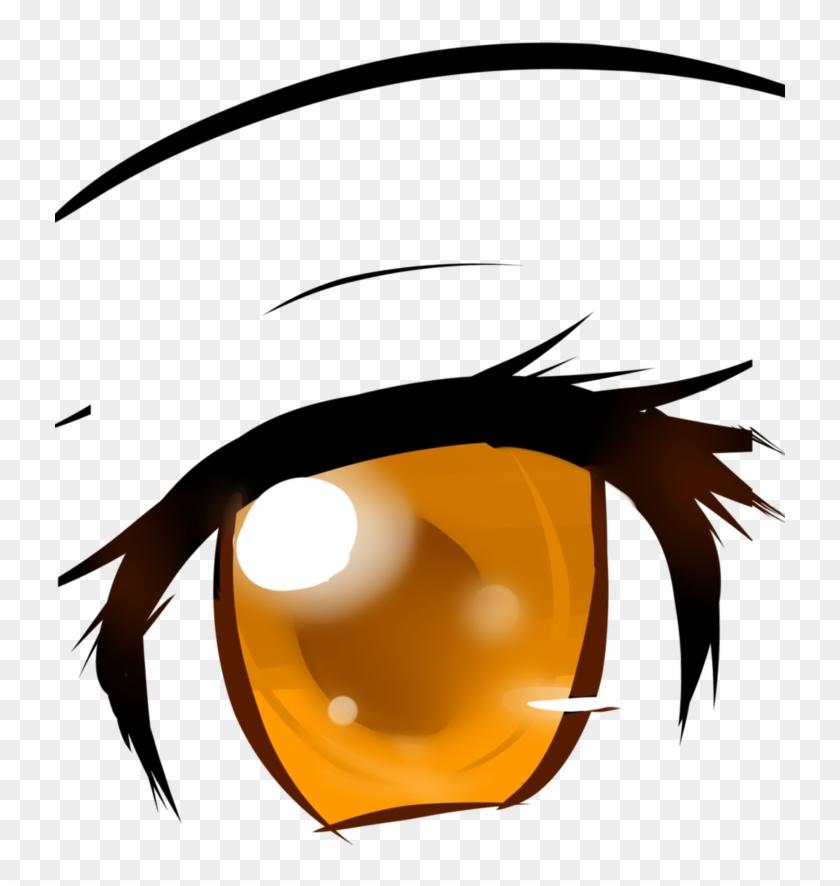 Twilight Sparkle Anime Manga Rarity - Brown Anime Eyes Png #1331636