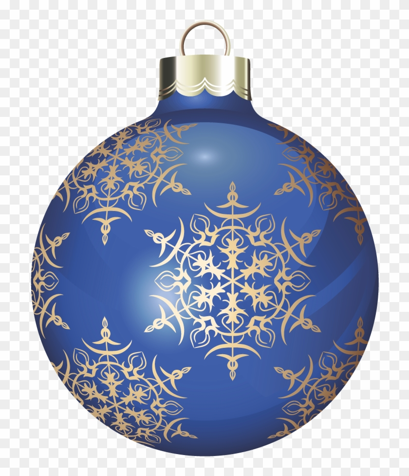 Blue Christmas Ball Ornament Clip Art At Clker Blue Christmas Ball