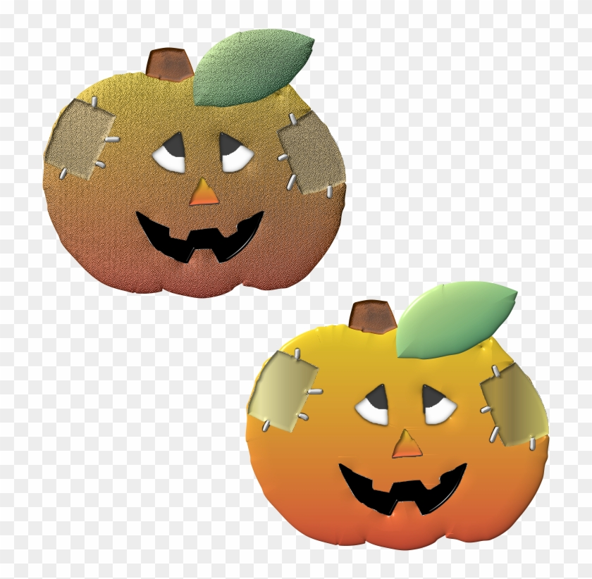 picture relating to Jackolantern Printable named Lovable Halloween Patched Up Pumpkins, Clip Artwork Printable