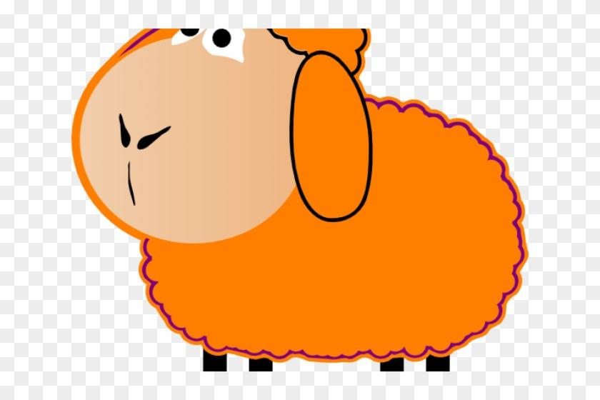 Cartoon Sheep Clipart - Clip Art Brown Sheep - Free