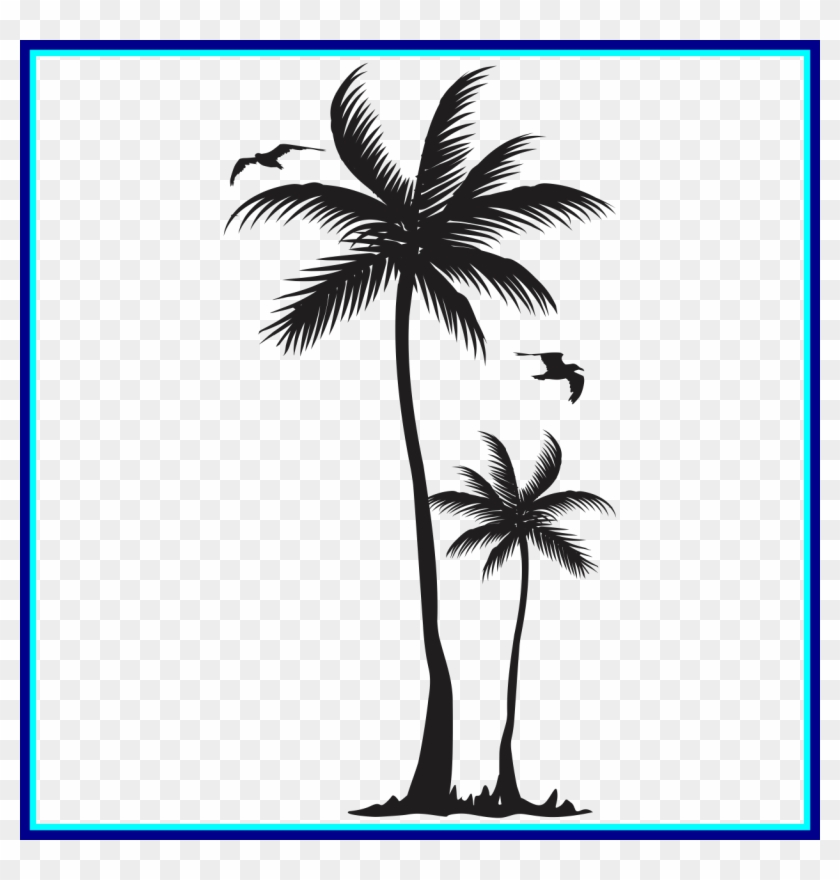 Incredible Palm Tree Image Artistically Inklined Small - Nivea Sun Deep Tanning Oil Spray Spf, 150ml #1334013