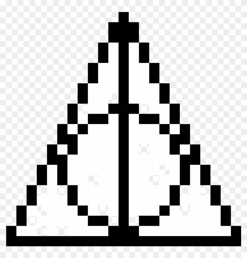 Deathly Hallows Pixel Art Harry Potter Free Transparent Png