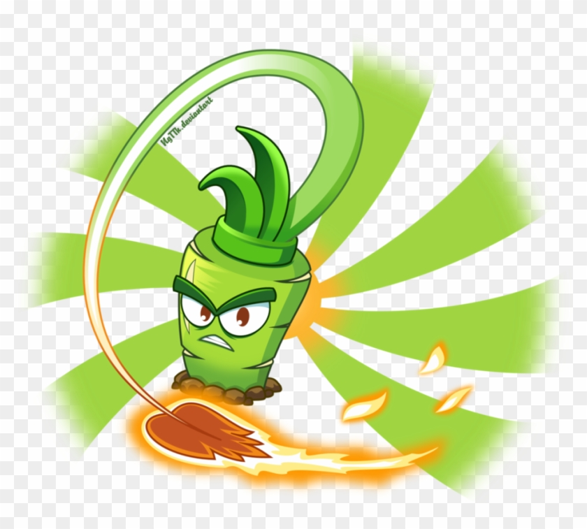 Hot Wasabi By Ngtth - Plants Vs Zombies 2 Wasabi Whip #1334541