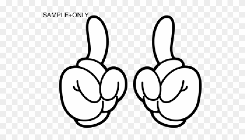 54 Mickey Mouse Glove Template