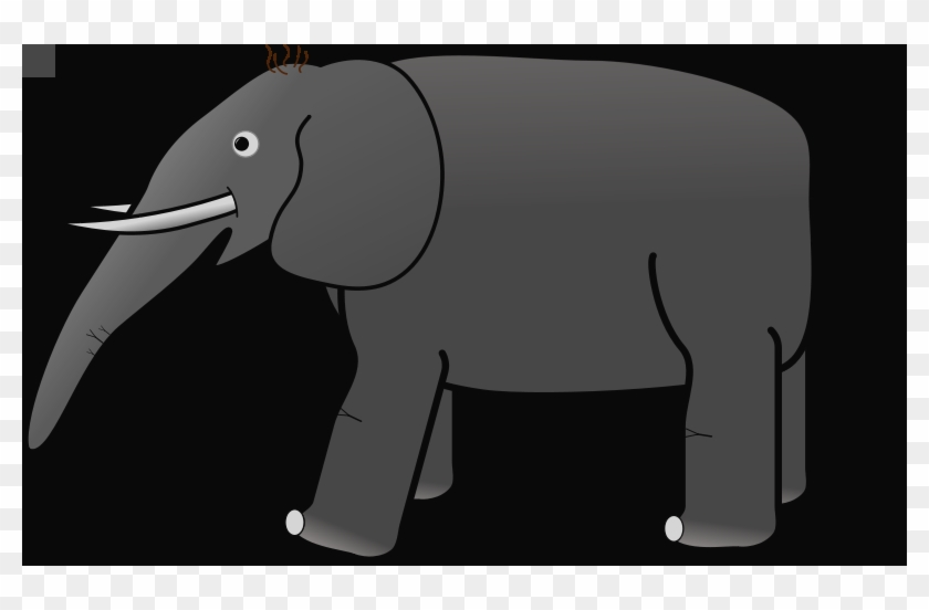Elephant Clip Art Download Transparent Elephant Clipart - Indian Elephant #1334914