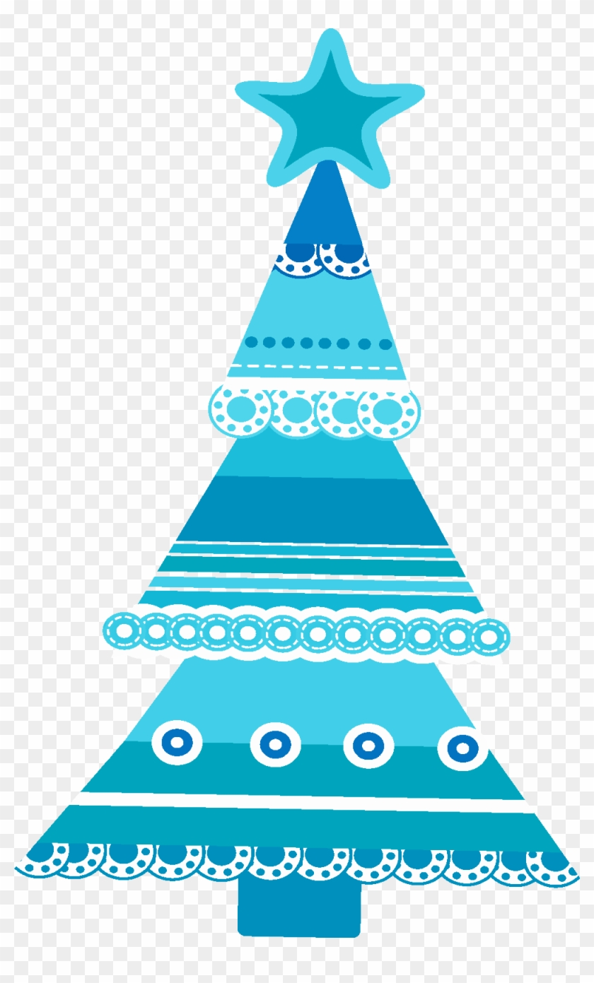 First Communion Clip Art Christmas Tree - Blue Christmas Tree ...
