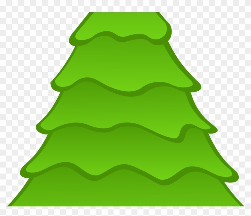 Abstract Christmas Tree Clipart Clipart Panda Free - Christmas Tree Round Ornament #1335054