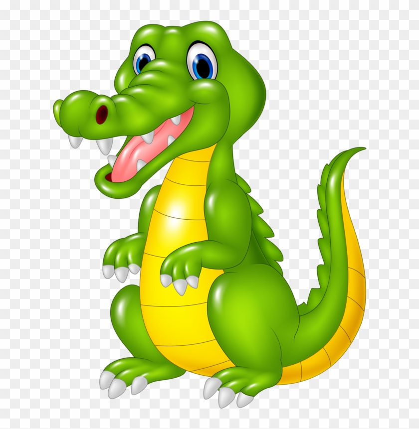 Crocodile Alligator Cartoon Illustration - Crocodile Cartoon Animals #1335538