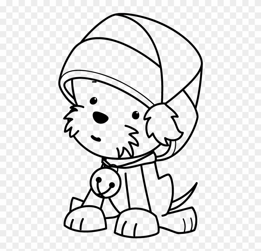Cute Puppy Coloring Pages For Kids – Free Printable Animals ... | 807x840