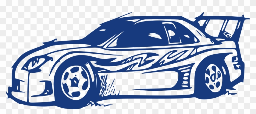 Sports Car Drawing Clip Art Sports Car Clipart Png Free