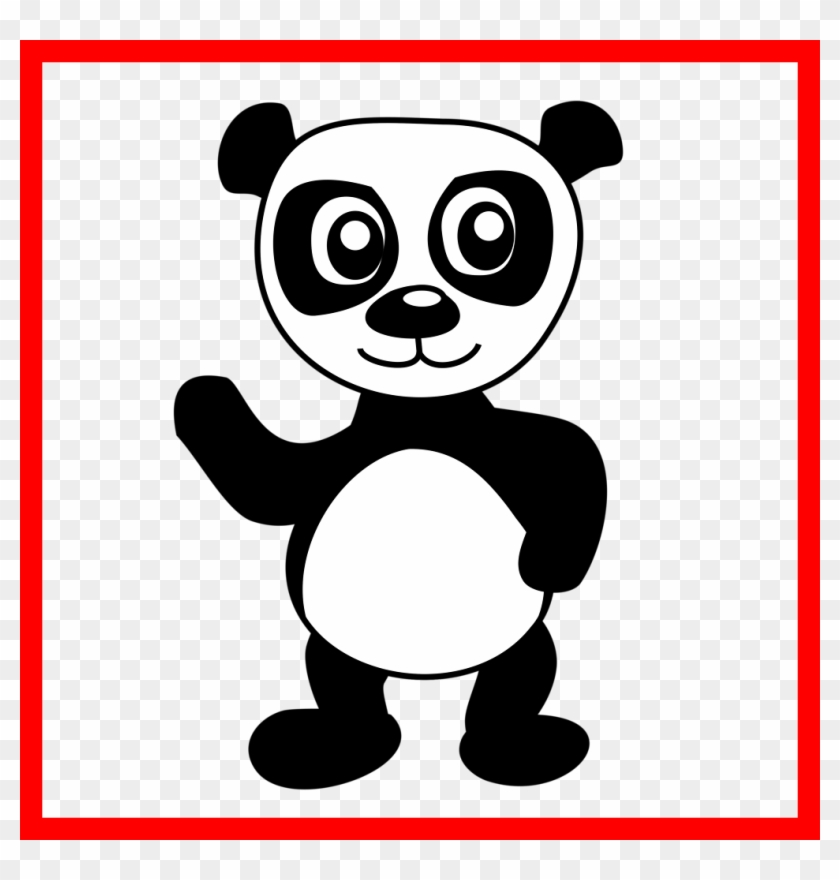 Cute Baby Panda Coloring Pages