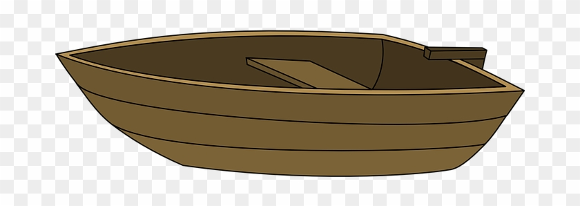 Row Boat Clipart Transparent Background - เรือ พาย การ์ตูน Png #1337291
