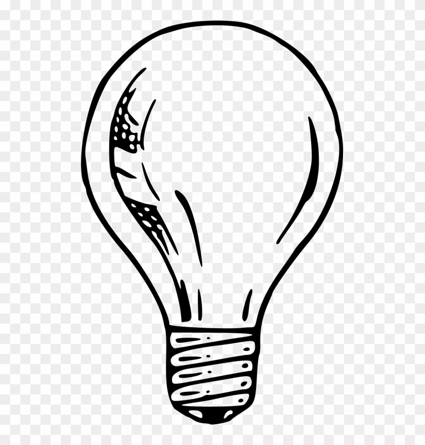 Medium Image Simple Light Bulb Drawing Free Transparent Png Clipart Images Download