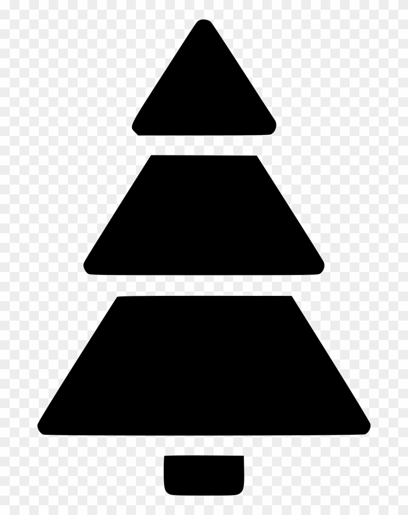 Christmas Tree Comments - Triangle #1337783