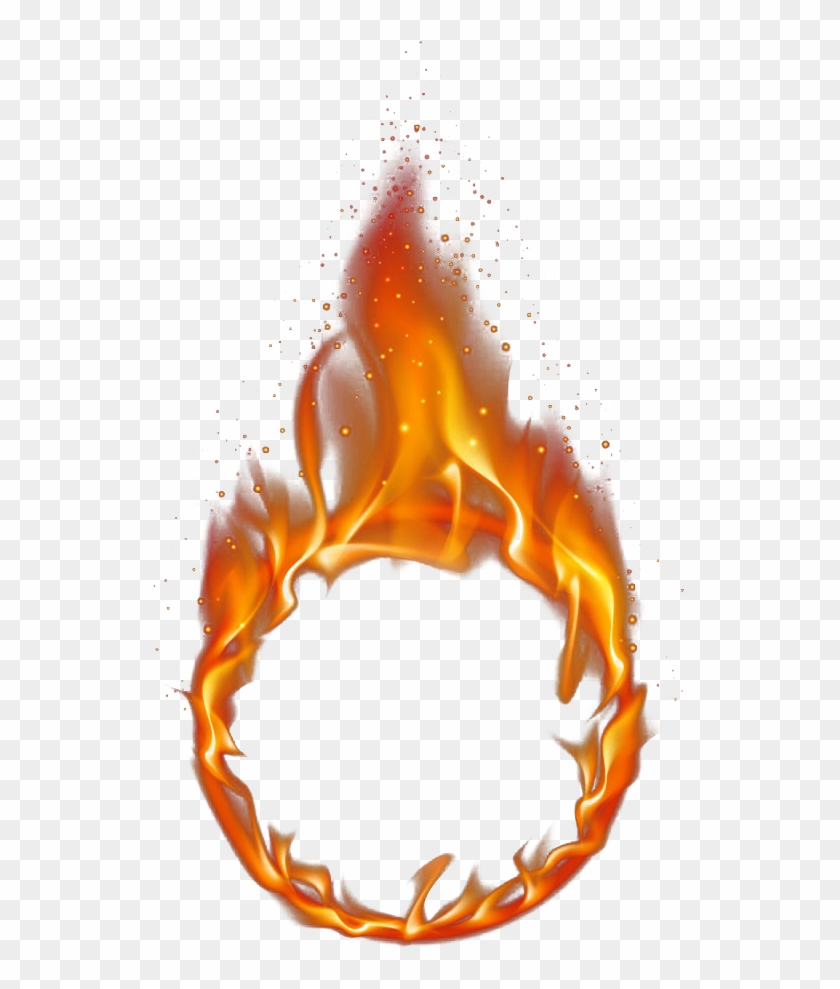 Red Ring Of Fire 1000*1000 Transprent Png Free Download - Ring Of Fire Transparent #1337871