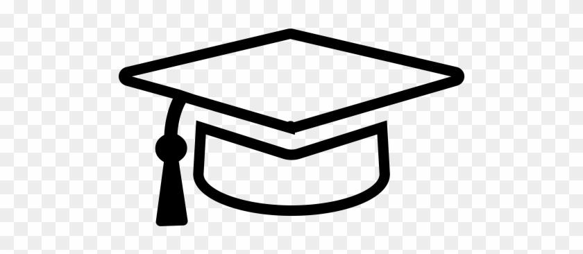 Graduation Cap, Graduation, Graduation Hat Icon - Graduation Cap Icon Transparent #1338182