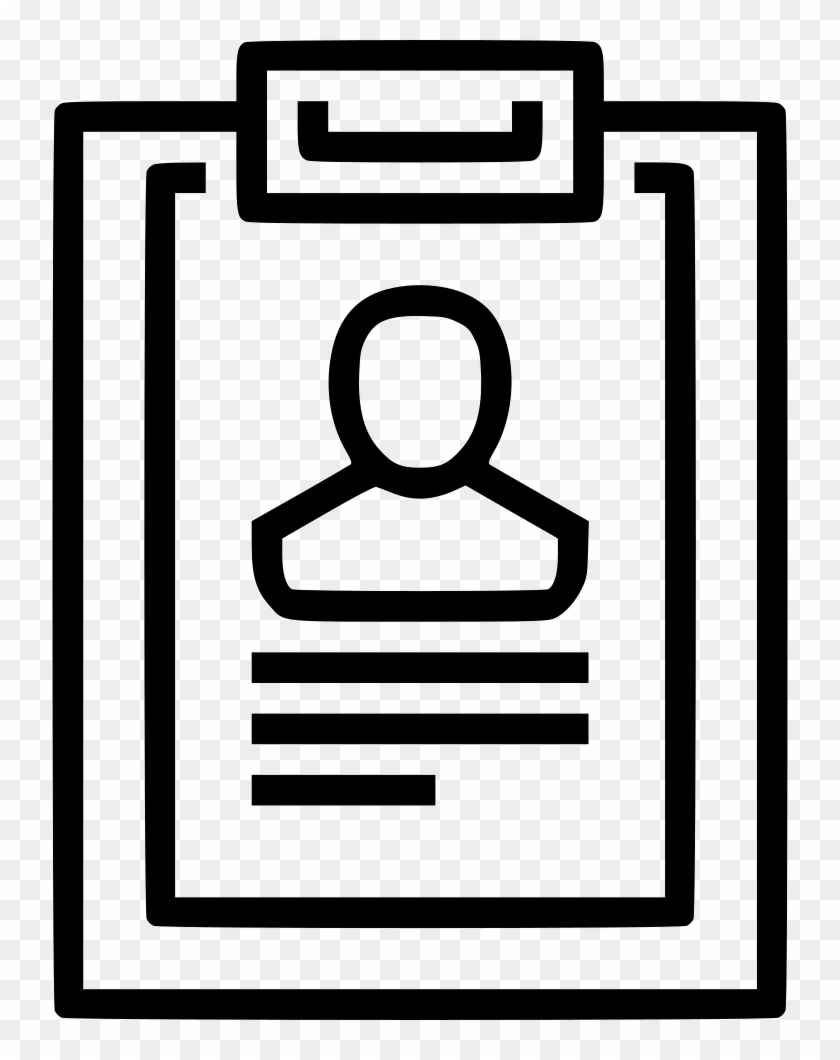 Cv Resume Comments Sop Icon Free Transparent Png Clipart