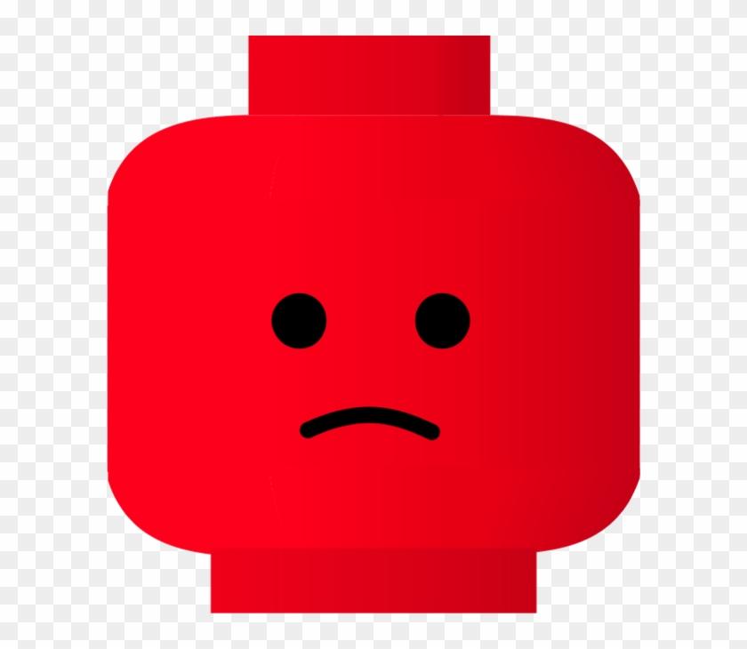 Clipart Info - Sad Lego Face Clip Art #1338293