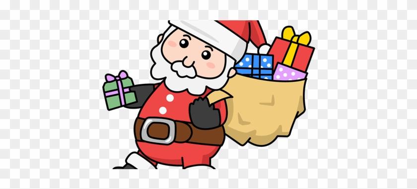 Santa Claus Clip Art - Cartoon Cute Christmas Santa #1338523