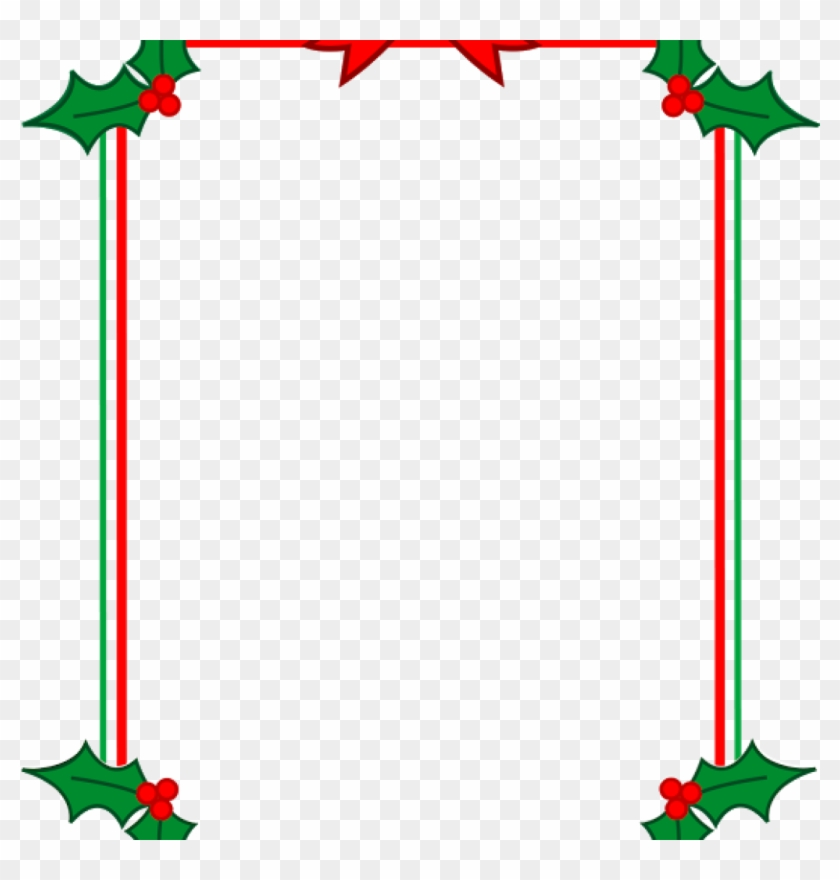 Free Christmas Clipart Frames 19 Christmas Graphic - Christmas Border Clipart #1338889