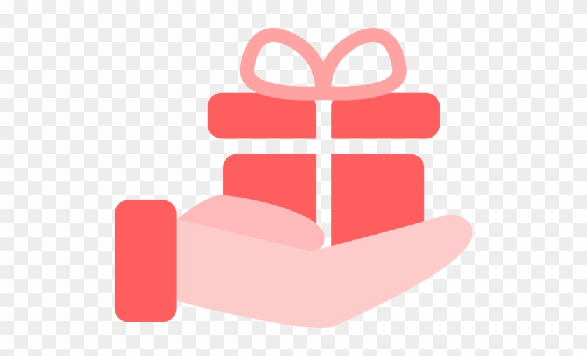 Giving Gifts , Giving, Hand Icon - Giving Hand Icon Png #1339061