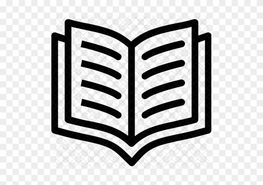 Open Book Icon Png Clipart Free Library - Open Book Icon Png #1340487