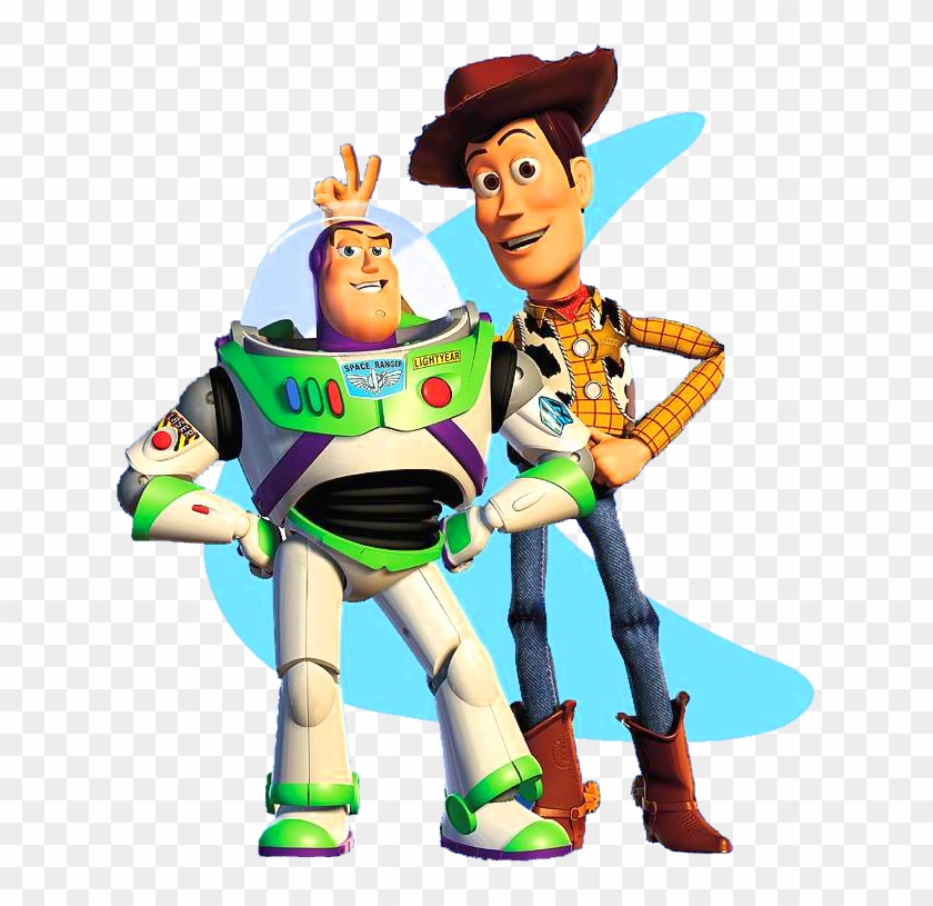 Toy Story Clip Art - Buzz Lightyear And Woody #207841