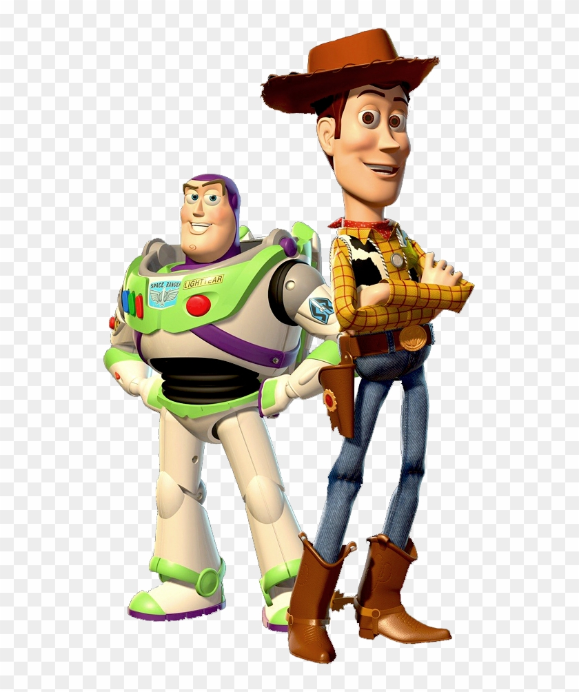 Toy Story Clipart Transparent - Toy Story Woody And Buzz Png #207908