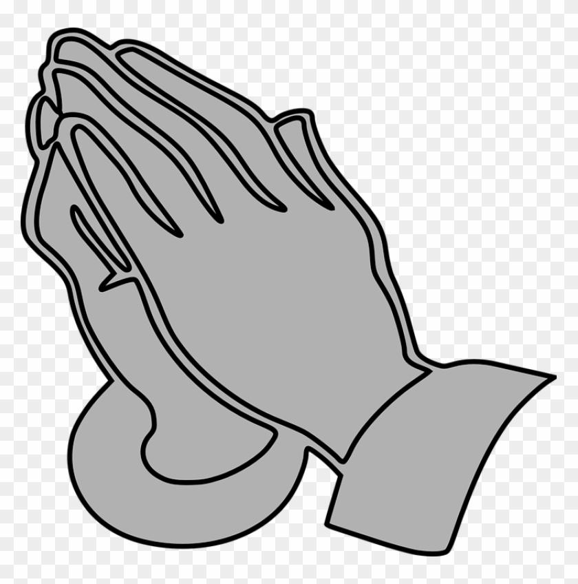 Intercessory Prayer Ministry Divine Mercy Catholic - Praying Hands Clipart #208238