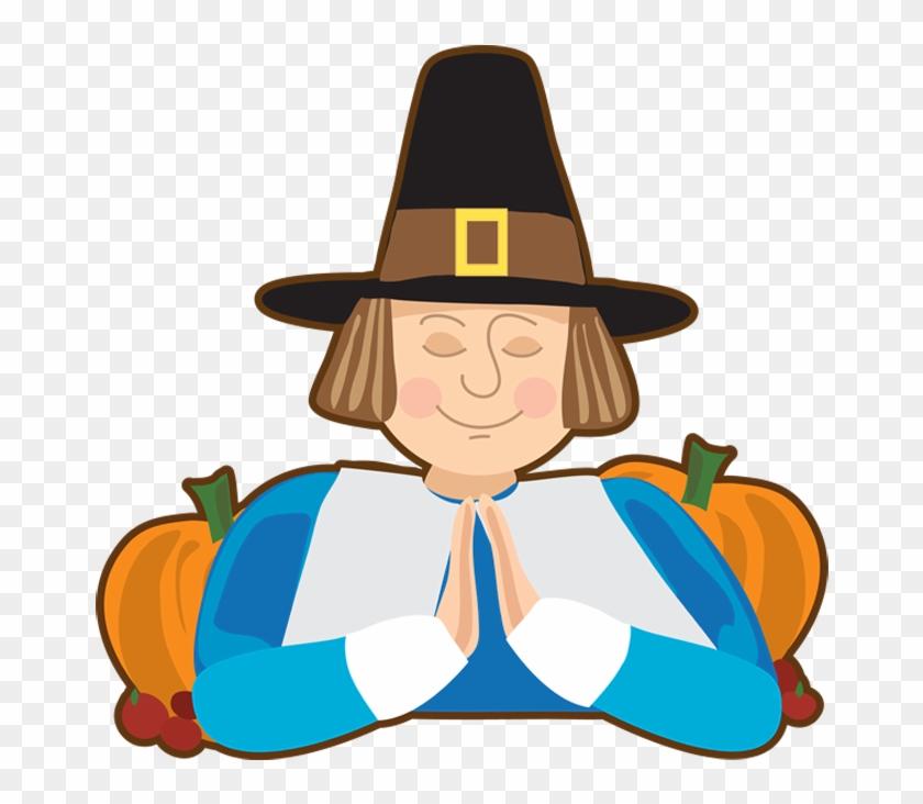 Transparent Thanksgiving Pilgrim Picture - Prayer #208436