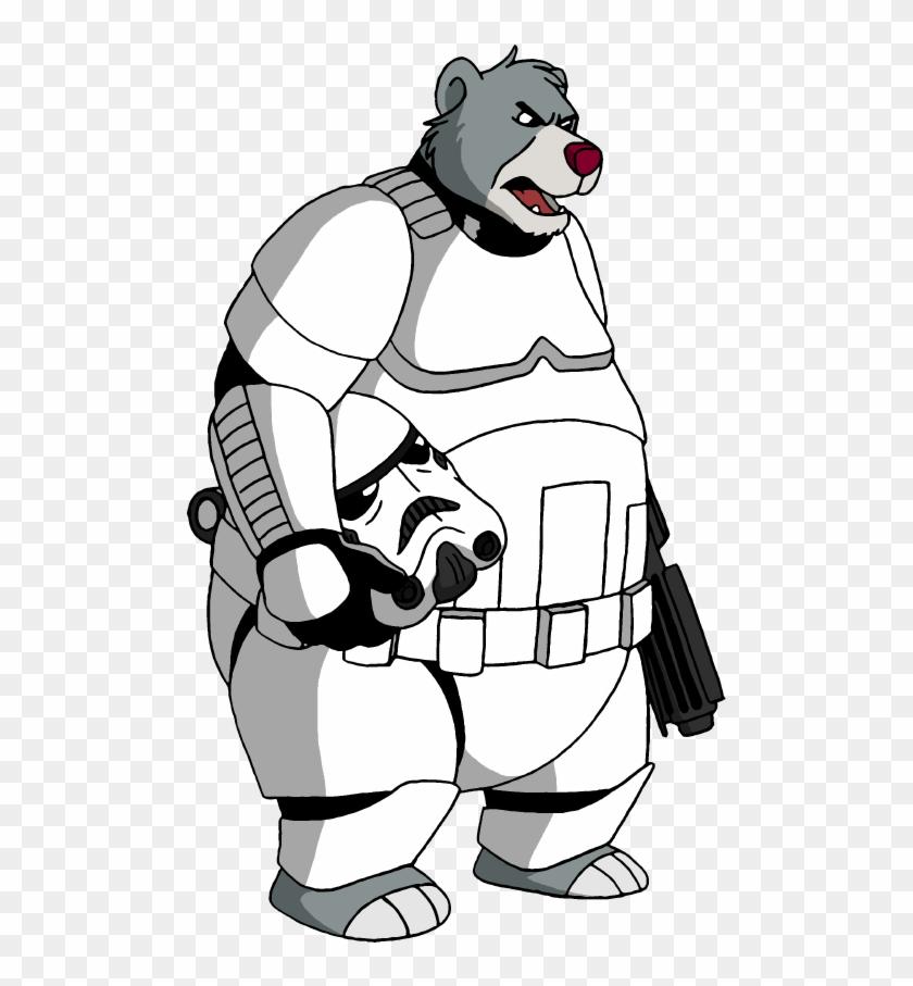 Stormtrooper Baloo By Lionkingrulez On Deviantart - Jungle Book Baloo Png #208678