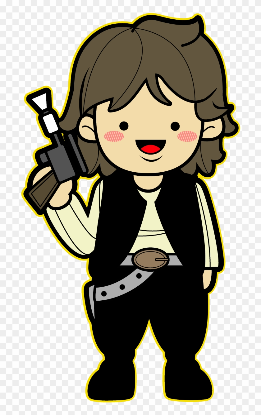 Star Wars Kawaii Saga - Star Wars Characters Cartoon #208965