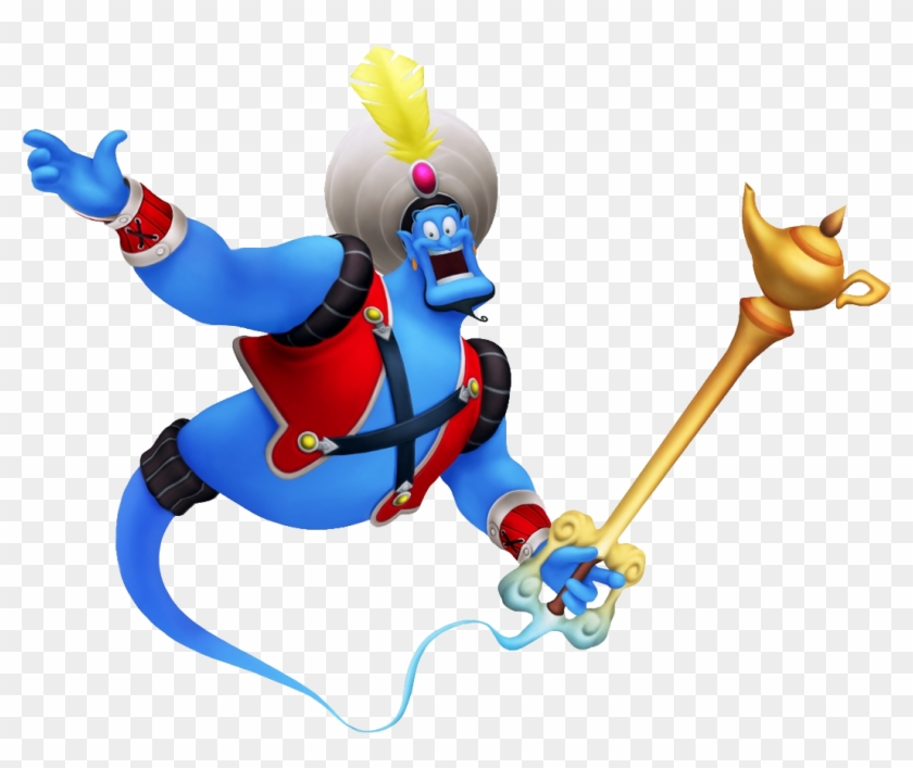 Genie - Genie Summon Kingdom Hearts 2 #208980