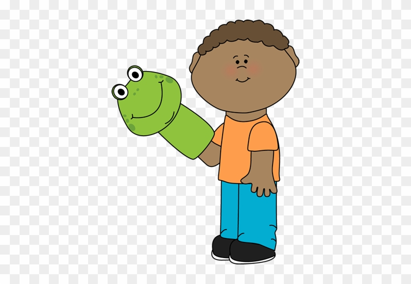 Maters Clipart Puppeteer - Hand Puppet Clip Art - Free