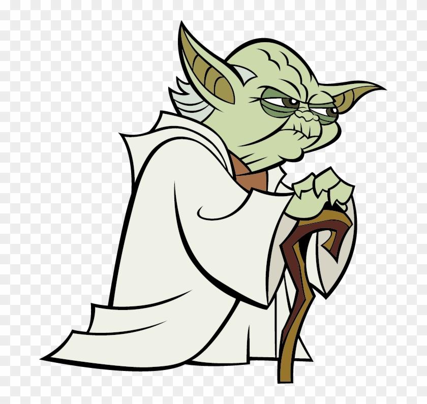 Yoda Anakin Skywalker Mace Windu Star Wars Yoda Cartoon