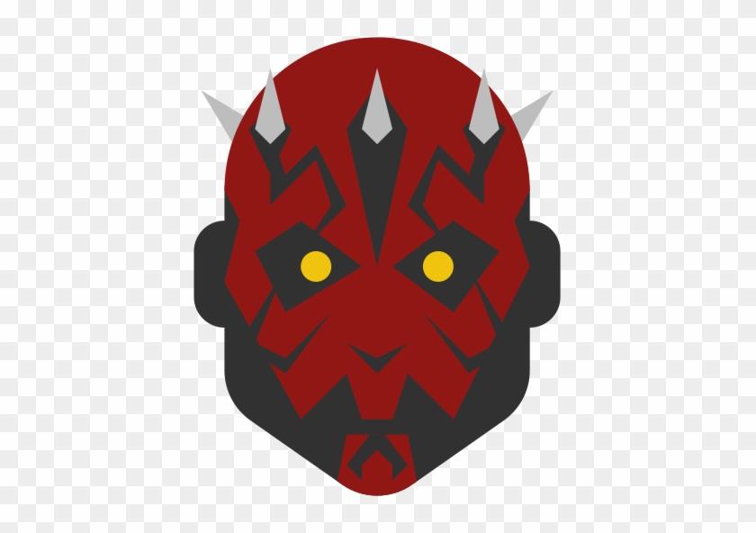 Darth, Maul, Star Wars Icon - Icon Star Wars Mask #209405