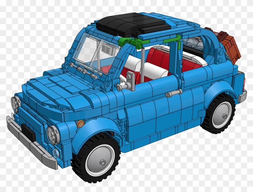 Fiat 500 Lego Car Png Clipart Lego Creator Fiat 500 Free