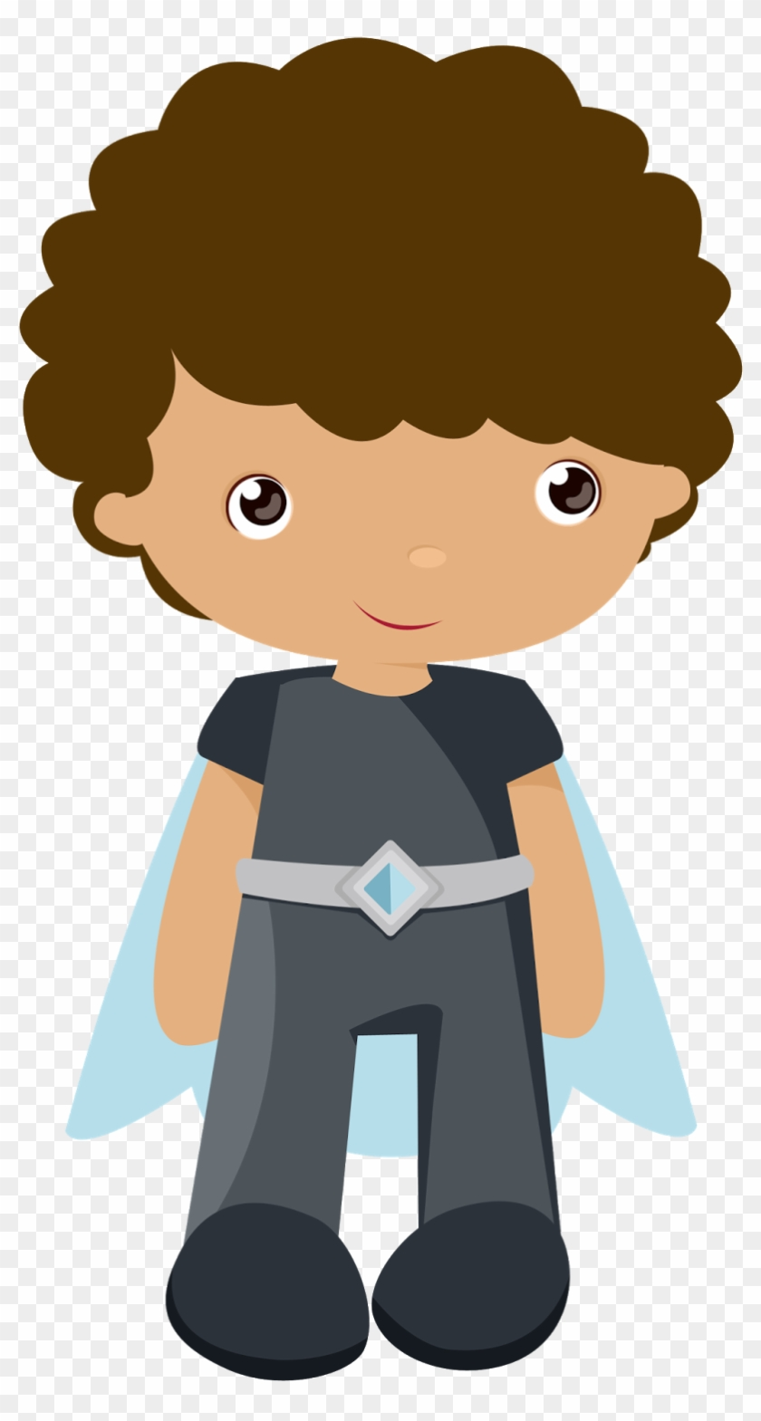 Kids Dressed As Superheroes Clipart - Principe De Cenicienta Kawaii #209517