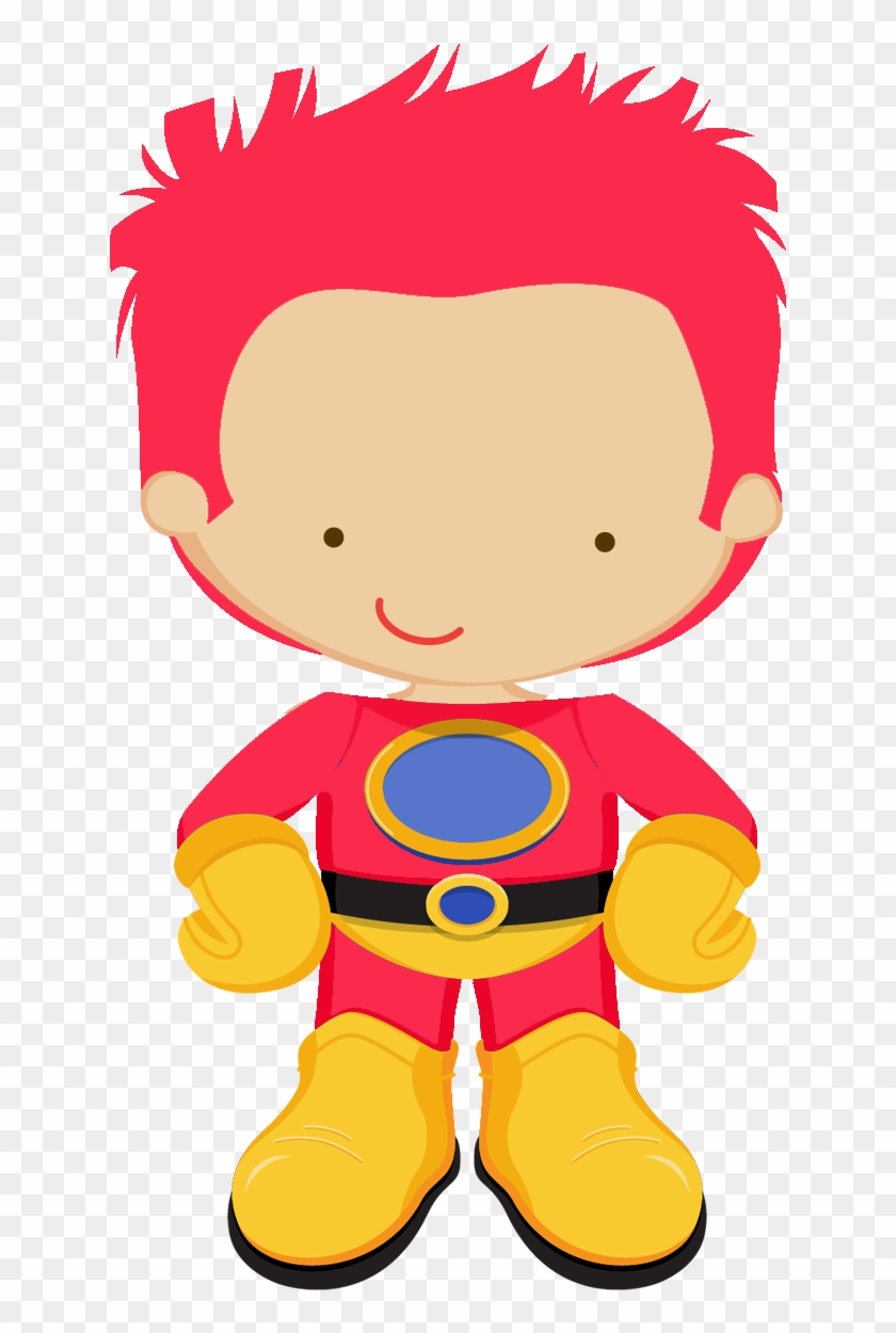 Kids Dressed As Superheroes Clipart - Superhero #209519