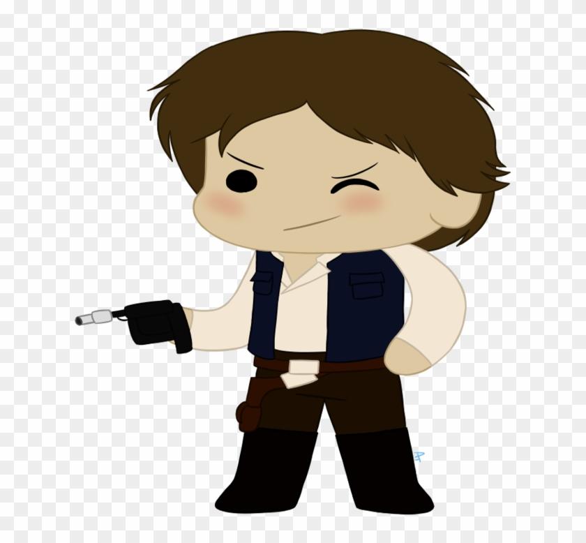 Han Solo Cheeb By Silkengalaxy - Han Solo #209616