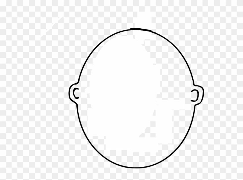 Blank Face Clipart Black And White - Christmas Tree White Background #210087