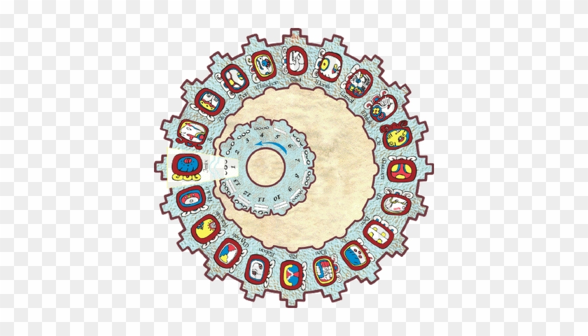 The Real Mayan Calendar, As Distinct From The Aztec - Calendar Round Maya #210206