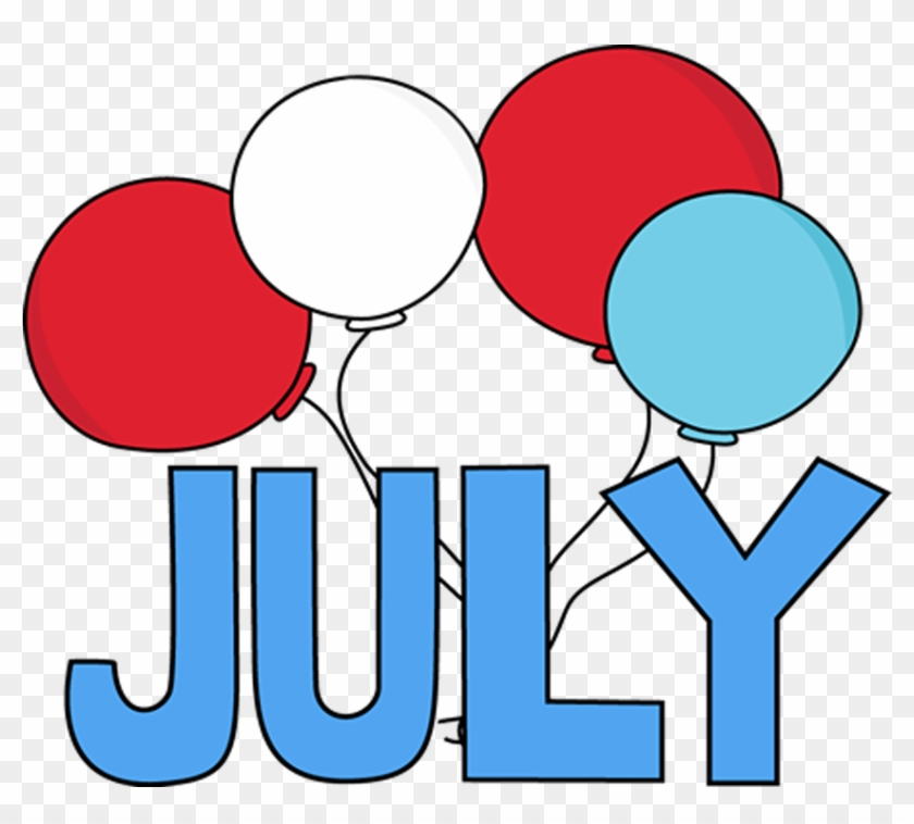 July Clipart Free Images Months Of The Year July 210219